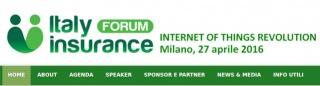 Milano: Italy Insurance Forum - 27 aprile 2016