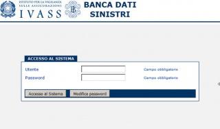 Banca Dati dei Sinistri RCA
