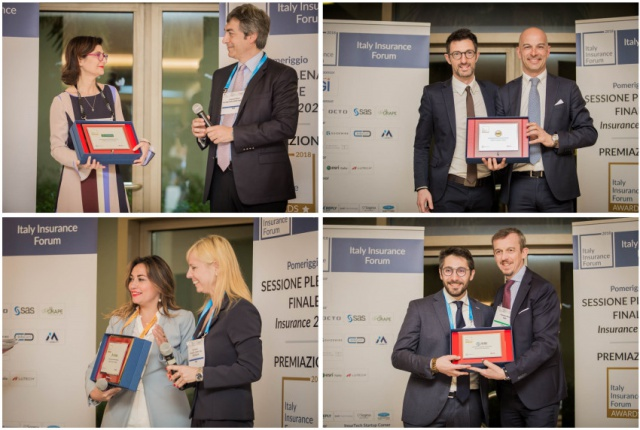 IKN Italy: i vincitori delle quattro categorie degli Italy Insurance Awards 2018
