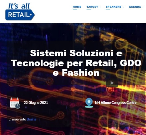 Milano:  IT'S ALL RETAIL GIUGNO 2021
