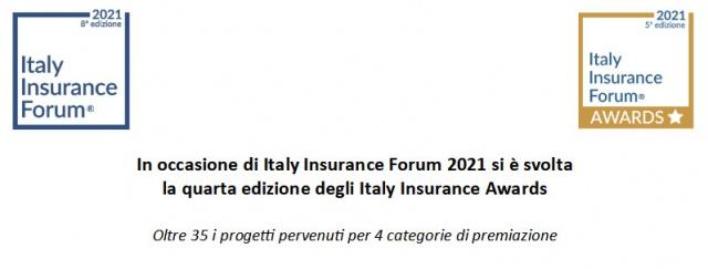 In occasione di Italy Insurance Forum 2021 si è svolta  la quarta edizione degli Italy Insurance Awards